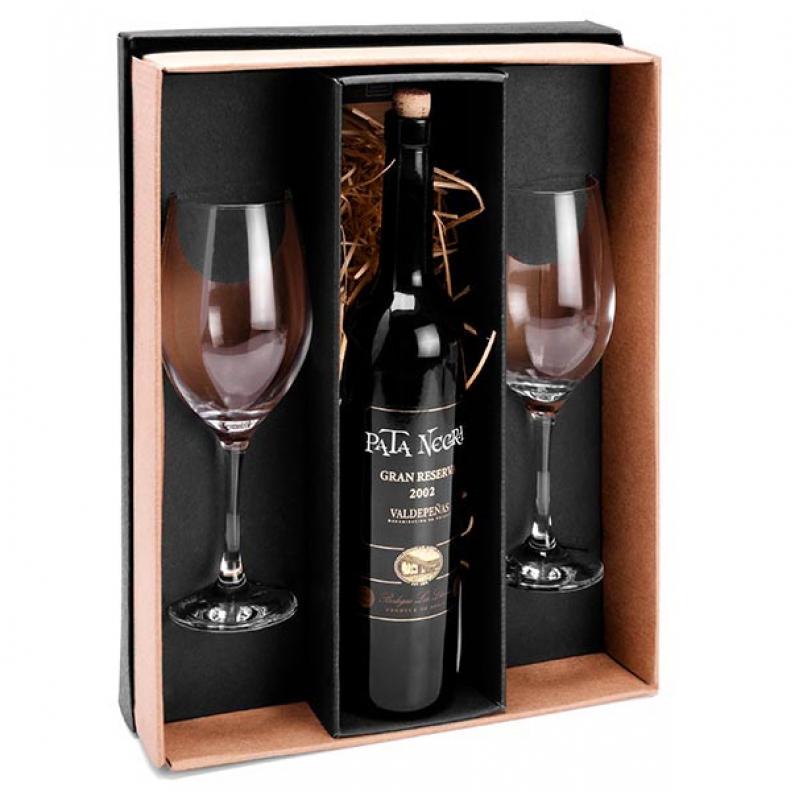 Kit Vinho e Chocolate Porto Alegre - Kit Vinho Lembrancinha
