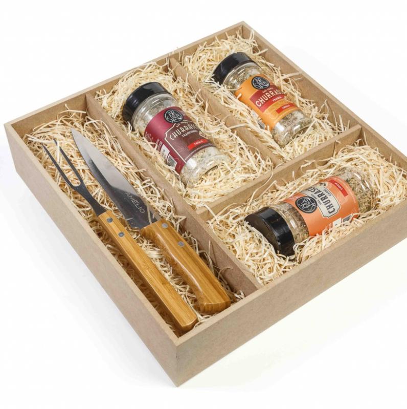 Onde Comprar Kit Gourmet para Presente Uberlândia - Kit Gourmet para Presente