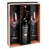 kit de vinho com duas taças São Paulo