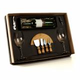 kit vinho com taças valor Santo André