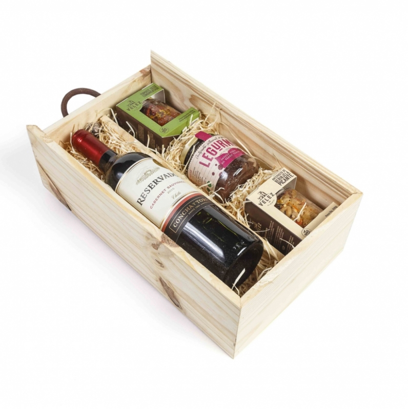 Valor de Kit Vinho e Chocolate Barueri - Kit Vinho Presente